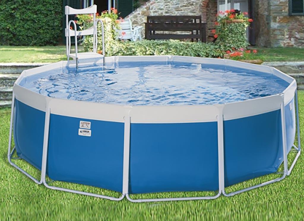 Classic tonda palbo piscine for Vasca laghetto rettangolare