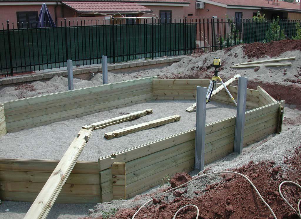 Piscina in legno palbo piscine for Piscine prefabbricate fuori terra prezzi